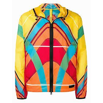 Moncler Genius Ezcr003001 Men's Multicolor Nylon Outerwear Jacket
