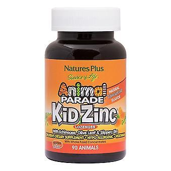 Nature's Plus Animal Parade Kidzinc Chewable Lozenges 90 (29964)