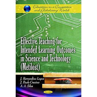 Tehokas opetus tarkoitettuja oppimistuloksia varten tieteessä ja teknossa