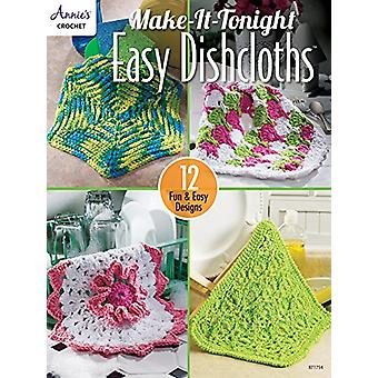 Make-It-Tonight Easy Dishcloths - 12 Fun & Easy Designs by Darla S