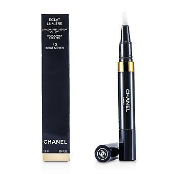 Eclat lumiere highlighter face pen   # 40 beige moyen 1.2ml/0.04oz
