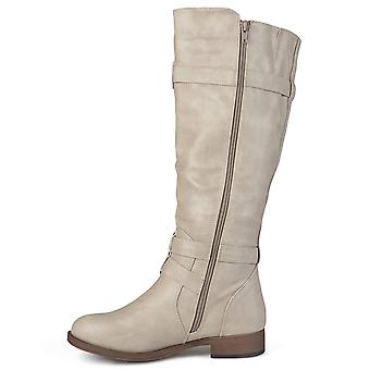 Journee Collection Womens bite Almond Toe Knee High Fashion Boots