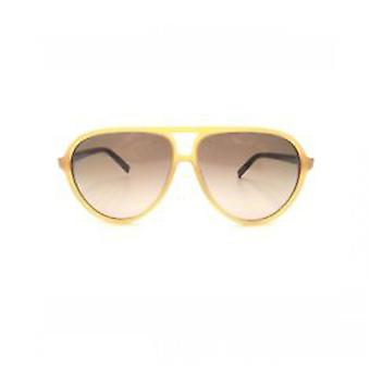 Karl Lagerfeld KL792S (135) Satin Honey Mens 59-12-140 Sunglasses - Yellow