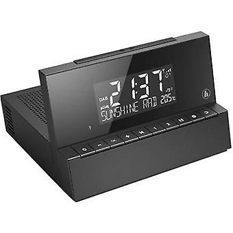 Hama DR35 Radio alarm clock DAB+, FM AUX Black