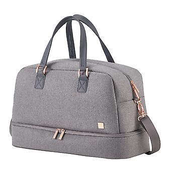 TITAN Barbara matkalaukku 33 cm, 39 L, harmaa