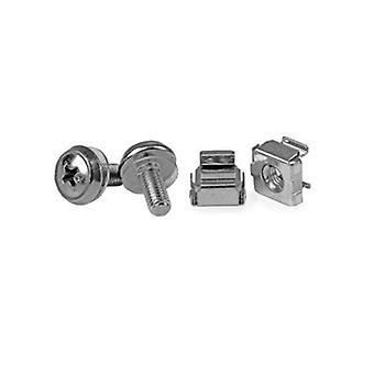 Startech 50 Pkg M5 Mounting Screws And Cage Nuts