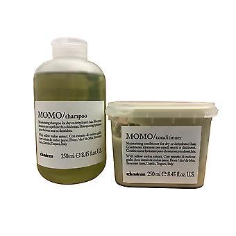 Davines Momo Shampoo & Hoitoaine 8,45 OZ Set