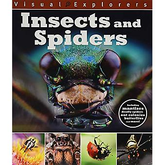 Visual Explorers - Insects and Spiders by Paul Calver - 9781445168197