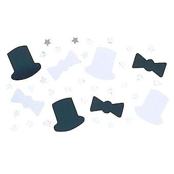 Amscan Top Hat Metallic Confetti