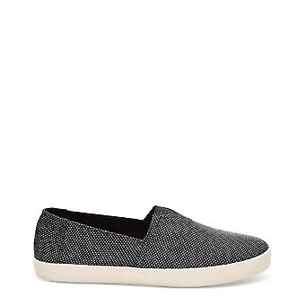 Tom's Avalon Black Yarn-Dye Slip-on