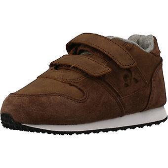Le Coq Sportif Shoes Jazy Classic Inf Hiver Color Brown