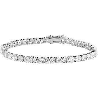 Premium Bling 925 sterling silverarmband - TENNIS 5mm