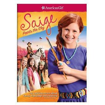 American Girl: Saige peint l'importation USA Sky [DVD]