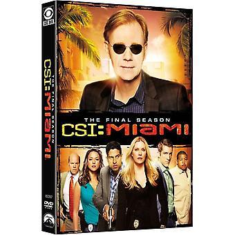 CSI: マイアミ: 最終の季節 [DVD] USA 輸入