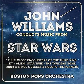 John Williams - Ohn Williams Conducts Music From Star Wars [CD] USA import
