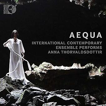 Thorvaldsdottir / International Contemporary Ensem - Aequa [CD] USA import