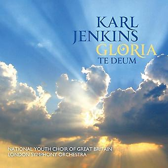 Karl Jenkins - Karl Jenkins: Gloria; Te Deum [CD] USA import