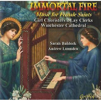 Immortal Fire - Immortal Fire: Music for Female Saints [CD] USA import