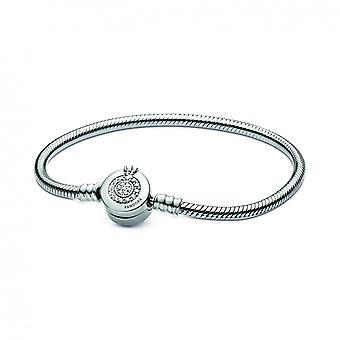 Bracelet Snake Bracelet Clasping O Glittering Corona 599046C01 - Bracciale da donna