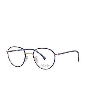 Paul Smith ALBION PSOP003V1 04 Navy On Matte Gold Glasses