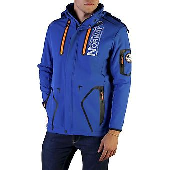Geographical Norway - Clothing - Jackets - Tyreek_man_royalblue - Men - dodgerblue,orange - L