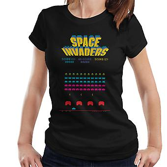 Space Invaders 1978 Arcade Game Play Women's T-Shirt