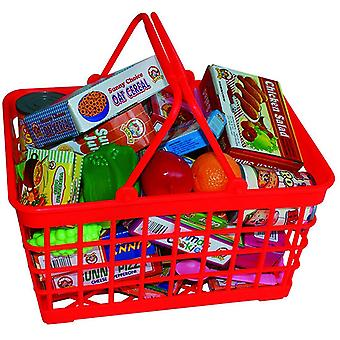 Peterkin Grocery Basket with Play Food Toy