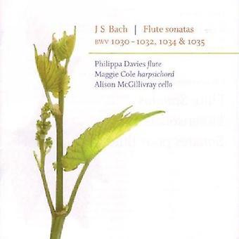 Sonatas Flute/Bwv1030/Bwv1035/Bwv1032/Bwv1034/Bwv1 [CD] USA import