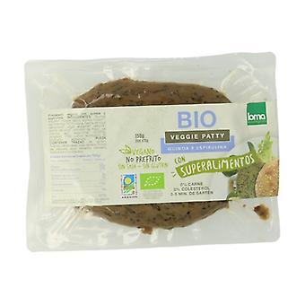 Økologisk Quinoa og Spirulina Burger 150 g