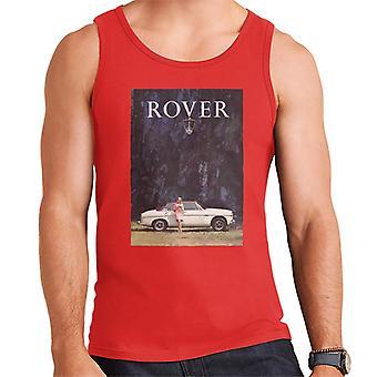 Rover Poster Design British Motor Heritage Men's Vest