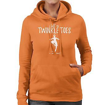 Call Me Twinkle Toes Avatar The Last Airbender Women's Hooded Sweatshirt