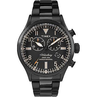 TW2R25000, Waterbury Timex Style Mens Watch / Noir