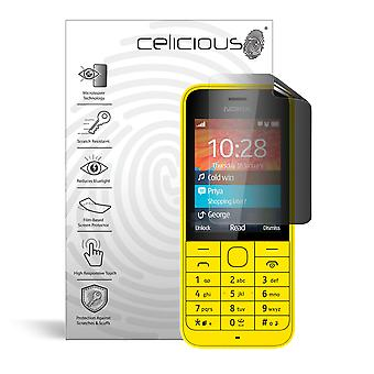 Celicious Privacy 2-weg Antispion filteren Screen Protector Film compatibel met de Nokia 220