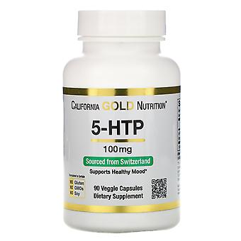 California Gold Nutrition, 5-HTP, Mood Support, Griffonia Simplicifolia Extract