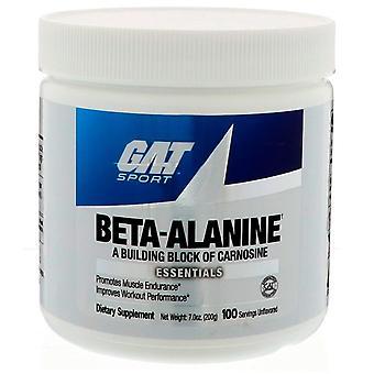 GAT, Beta Alanine, Unflavored, 7.0 oz (200 g)