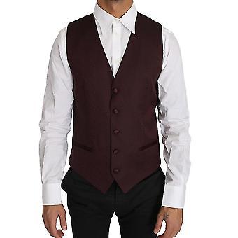 الأرجواني نمط الصوف الحرير صدرية سترة - TSH2597616