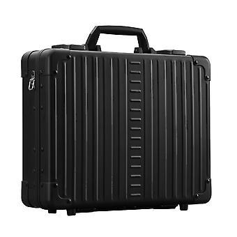 "ALEON Attach' Caja portátil de aluminio 15"" Caja portátil 38 cm, Negro"