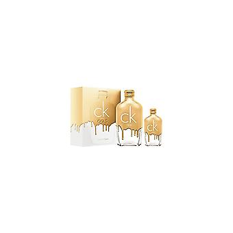 Calvin Klein One Gold Gift Set - 200ml Eau De Toilette / 50ml Eau De Toilette