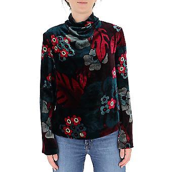 Dries Van Noten 107571009304 Women's Multicolor Wool Sweater