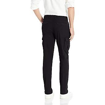 Goodthreads Men's Slim-Fit Ripstop Cargo Pant, -black, 33W x 32L