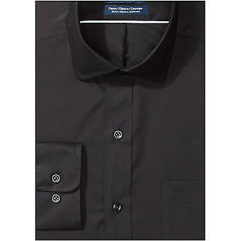 BUTTONED DOWN Men's Classic Fit Stretch Poplin Non-Iron Dress Shirt, Chambray...