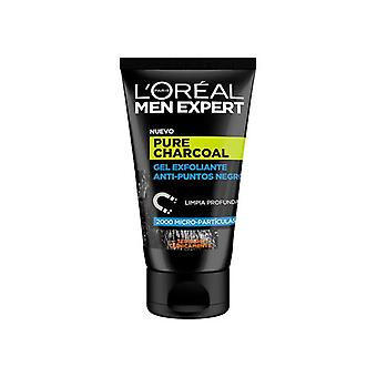 Exfoliant visage Pure Charcoal L'Oreal Make Up (100 ml)