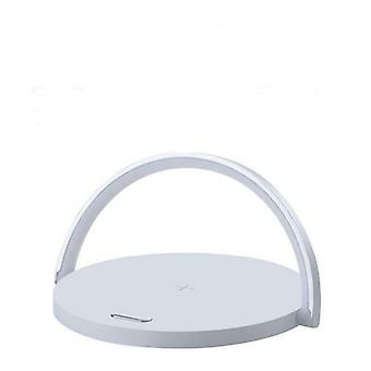 Zikko Zw8013 2in1 Wireless Intelligent Charger With Small Led Night Light Auto Rainbow Off Support For Iphone X / Samsung S10