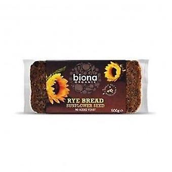 Biona - Org Wmeal Rye Sun Seed Bread 500g