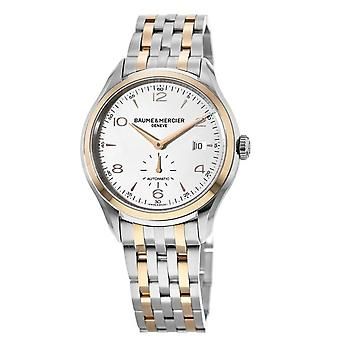 Baume et Mercier Clifton Automaattinen Hopea valitsin Men's Watch A10140