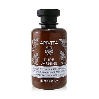 Apivita Pure Jasmine Shower Gel with Essential Oils 250ml/8.45oz