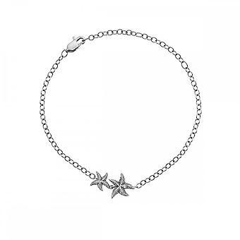 Hot diamanter Sterling sølv evig kjærlighet armbånd DL587