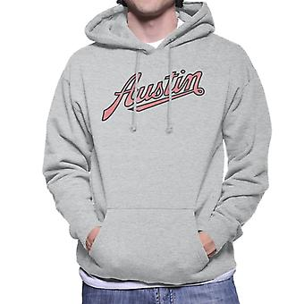 Austin Vintage Logo British Motor Heritage Men's Hooded Sweatshirt
