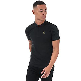 Men's Luke 1977 Willtape Polo Camisa en negro