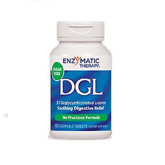 Enzymatic Therapy DGL, 100 Chew Tabs